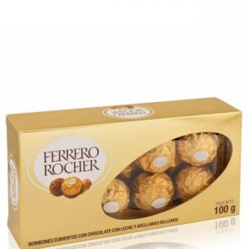 Bombones Ferrero Rocher Caja de 8 unid.
