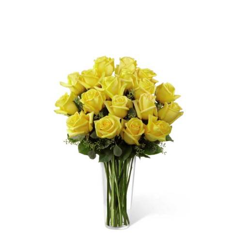 Yellow Rose Bouquet - Deluxe