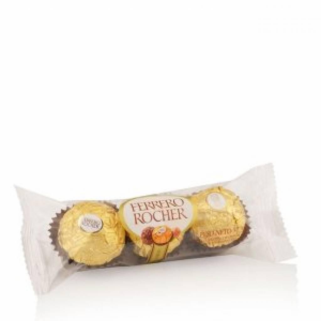 Bombones Ferrero Rocher 3 unid.