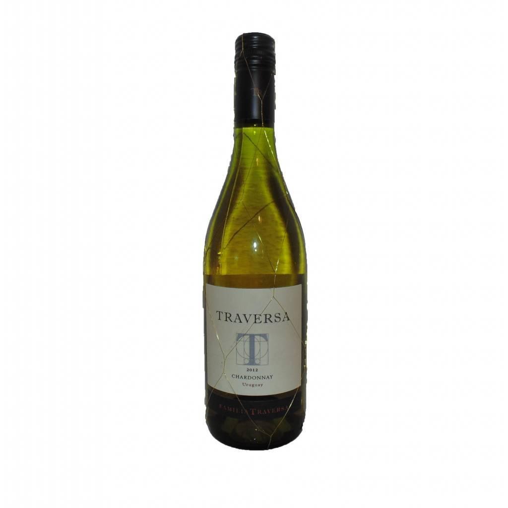 Vino Blanco Traversa Chardonnay Gran Reserva 3/4 lt