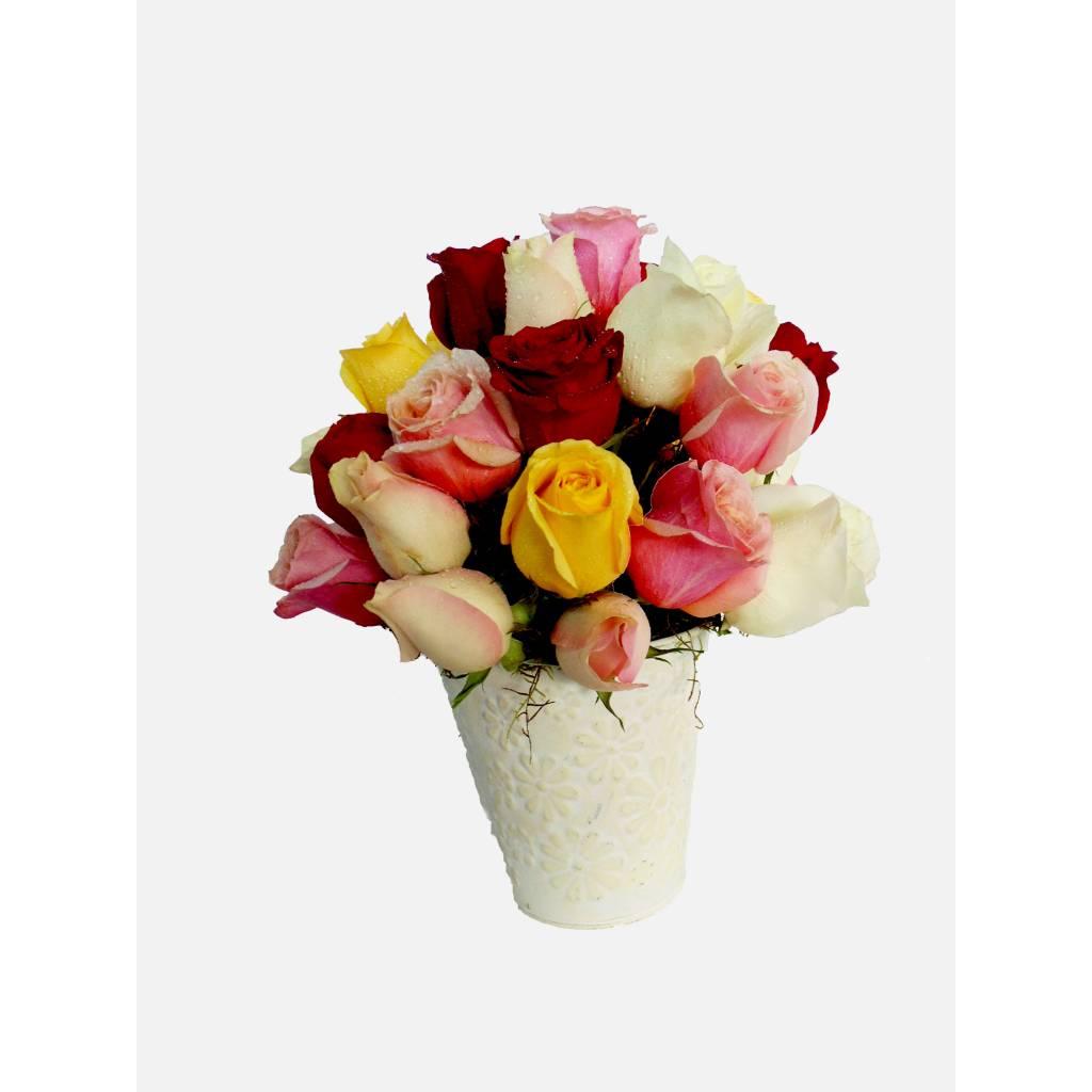 Mix de 24 Rosas