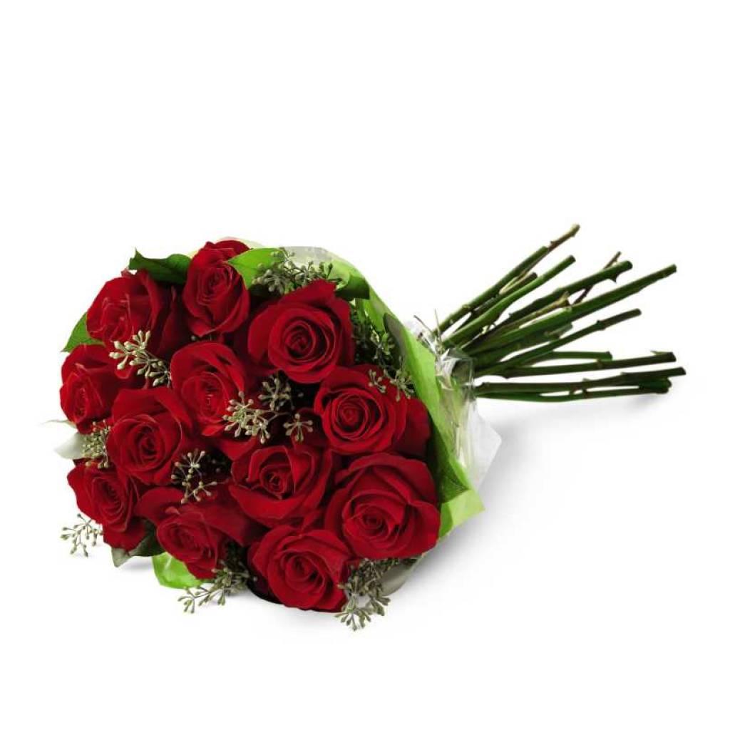 Regalale todo tu Amor con 12 Rosas Premium