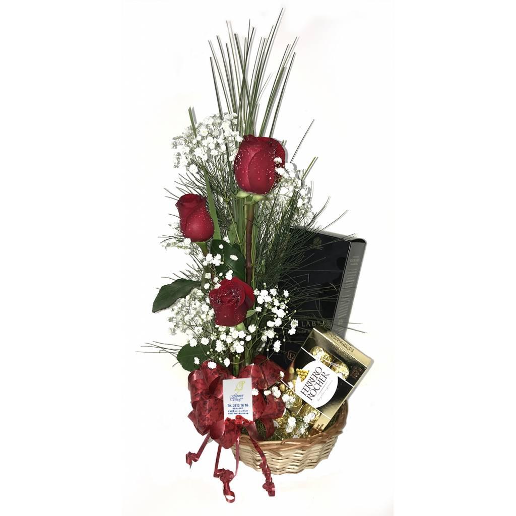 Flores premium + Whisky Johnnie Black
