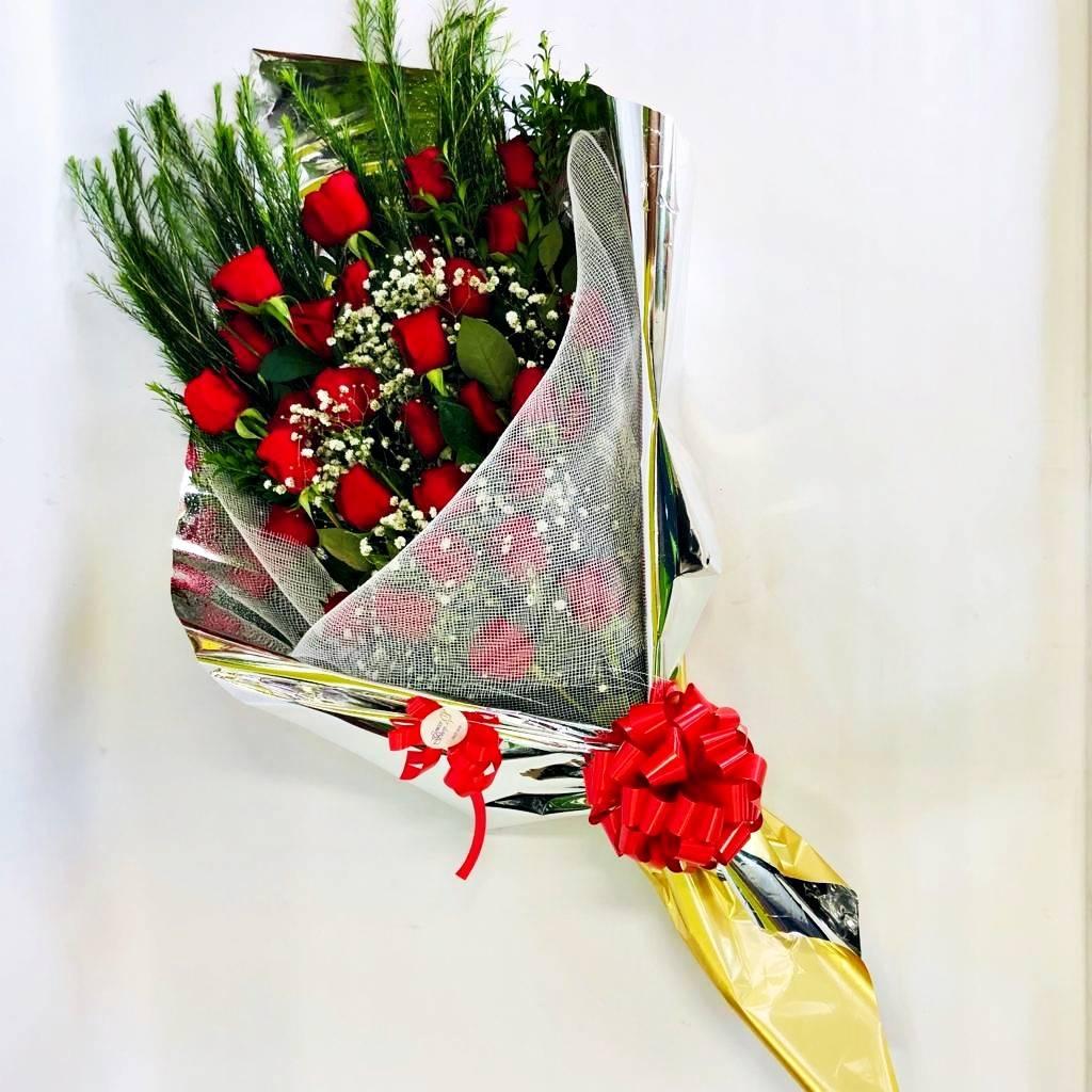 Bouquet 30 rosas premium