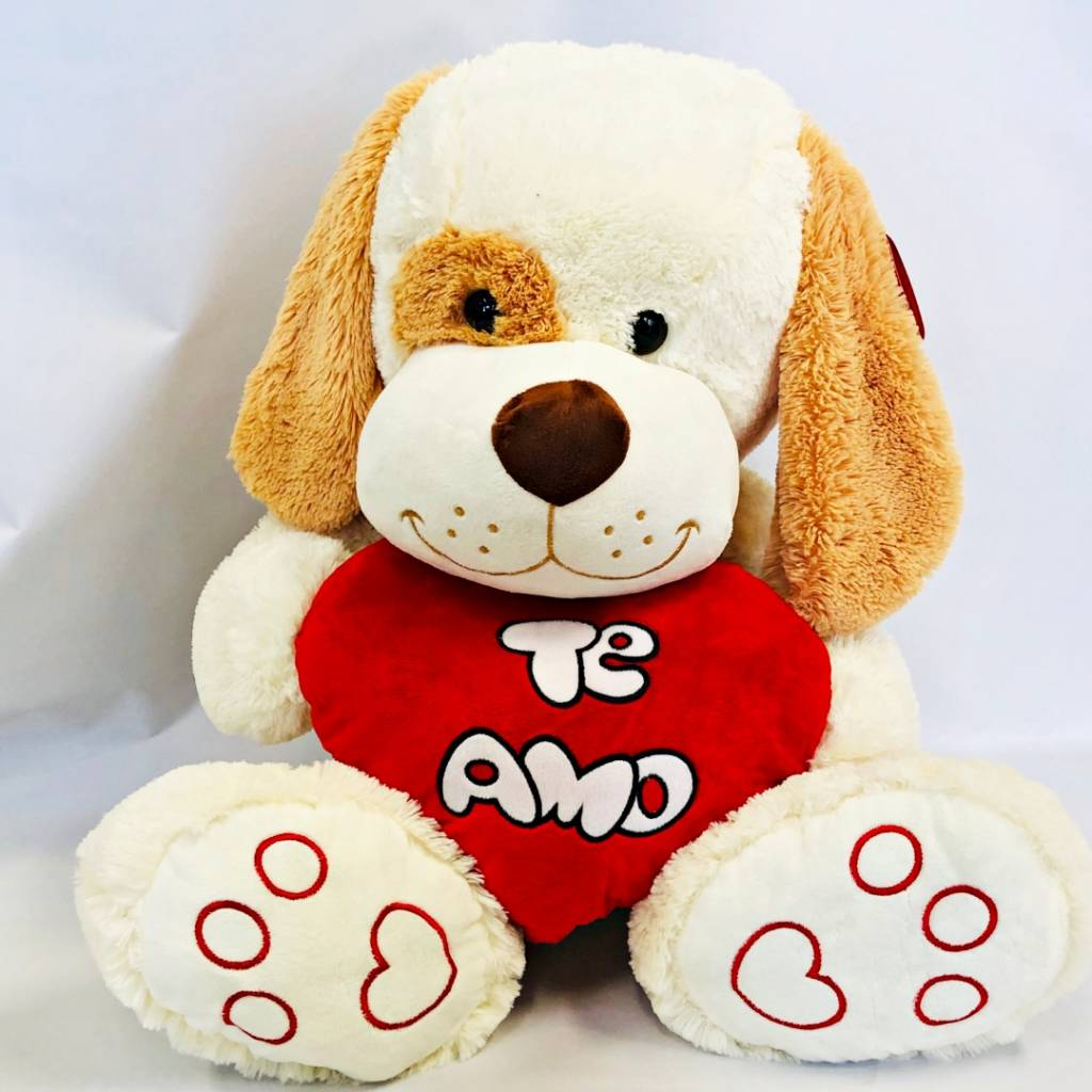 Perro con corazón Te amo